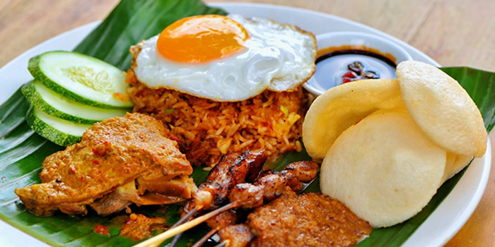 Nasi Goreng from Privé Paragon in Orchard, Singapore