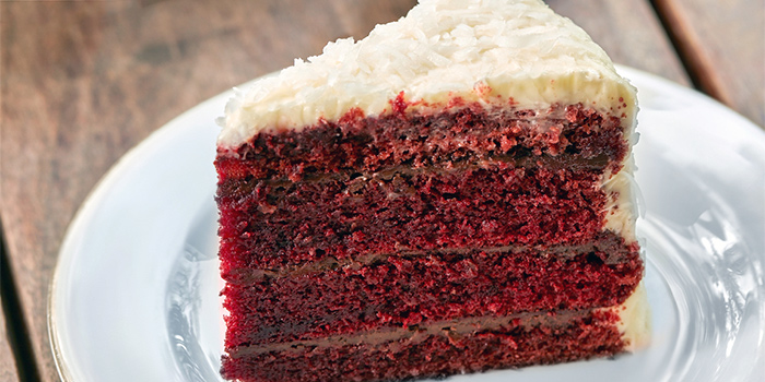 Red Velvet Cake from Privé Paragon in Orchard, Singapore