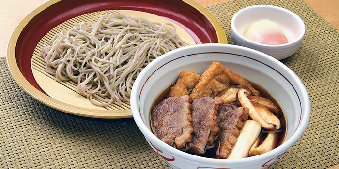 Duck Tsukemen Seiro from Shimbashi Soba at Paragon in Orchard, Singapore