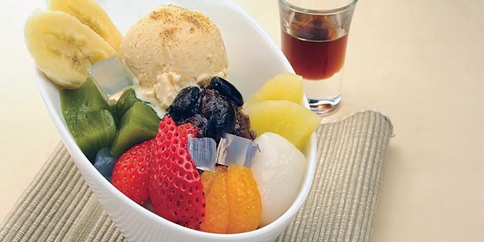 Cha Cream Anmitsu from Shimbashi Soba at Paragon in Orchard, Singapore