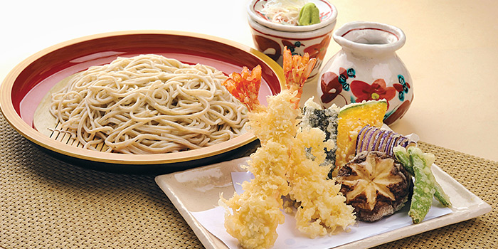 Tempura Seiro from Shimbashi Soba at Paragon in Orchard, Singapore