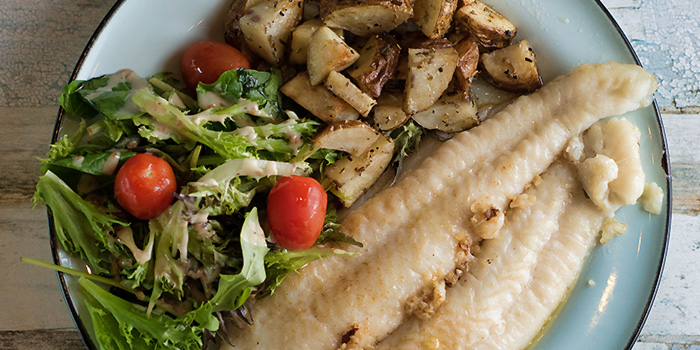 Grilled Fish from Small Ville Bakery Cafe in Yio Chu Kang, Singapore