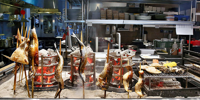 Grilled Fish from Sumiya at Suntec City in Promenade, Singapore