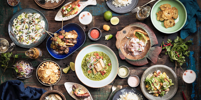 Food Spread from TONO Cevicheria at Duo Galleria in Bugis, Singapore