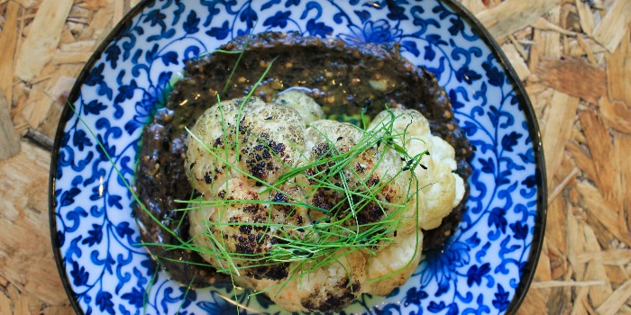 Charred Cauliflower from The Laneway Market in Lavender, Singapore