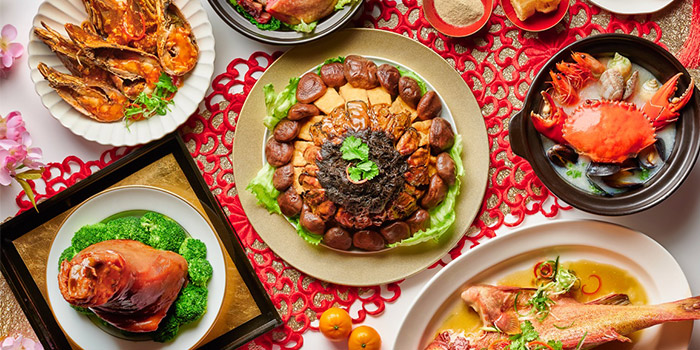 CNY Food Spread (10 Jan to 28 Feb) from The Line in Shangri-La Hotel in Orchard, Singapore