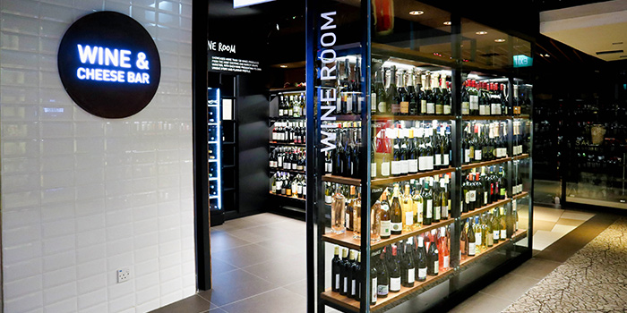 Wine Room of The Providore (Mandarin Gallery) in Orchard, Singapore