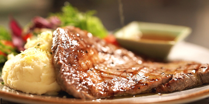 Rib Eye from Vibes Cafe (Westgate) in Jurong, Singapore