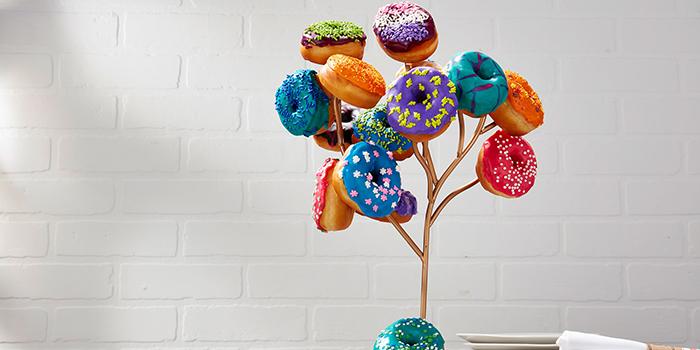 Donut Tree from Yardbird Southern Table & Bar at The Shoppes at Marina Bay Sands in Marina Bay, Singapore