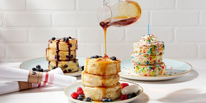 Pancakes from Yardbird Southern Table & Bar at The Shoppes at Marina Bay Sands in Marina Bay, Singapore