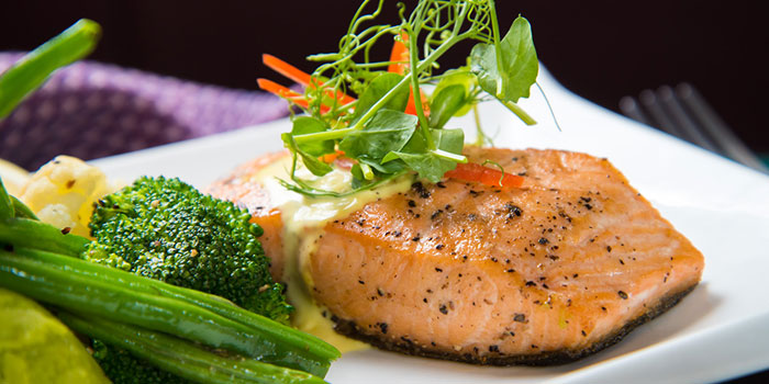 Salmon Filet, The Den, Sai Ying Pun, Hong Kong