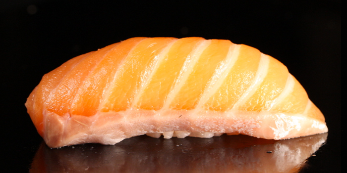 Salmon Sushi from Sushi Yama at CP Tower1 (Silom) 313 Silom 2/1 Silom, Bang Rak Bangkok