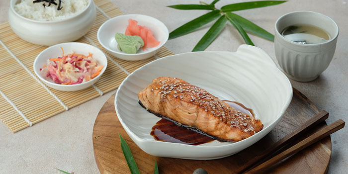 Food from Petani Restaurant, Ubud, Bali