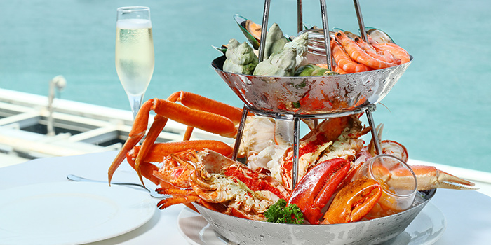 Weekend Brunch Seafood Tower, Cucina, Tsim Sha Tsui, Hong Kong