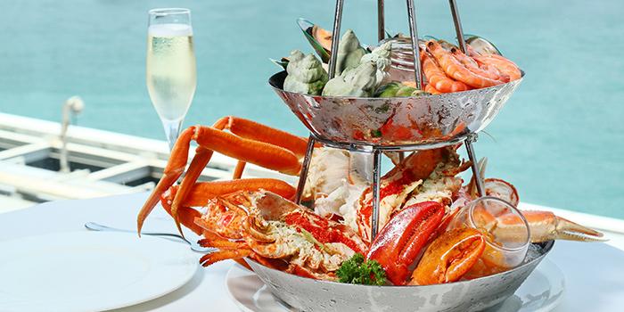 Weekend Brunch Seafood Tower, Cucina, Tsim Sha Tsui, Hong Kong