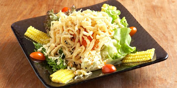 Shirauo Salad from Mugendai Penthouse at The Emquatier, The Helix 9fi. 693 Sukhumvit Road Khlong Toei Nuea, Wattana Bangkok