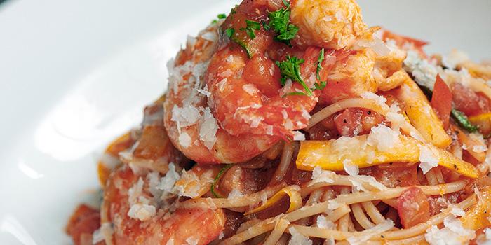 Shrimp Basil Pomodoro at Greenhouse Cafe in Design Hub at Tuas, Singapore