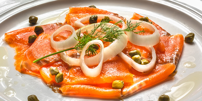 Smoked Salmon from Cali, Park Avenue Rochester Hotel at Park Avenue Hotel in Rochester, Singapore