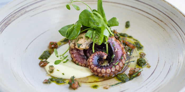 Spanish-octopus from Prime at The Nai Harn, Phuket, Thailand.