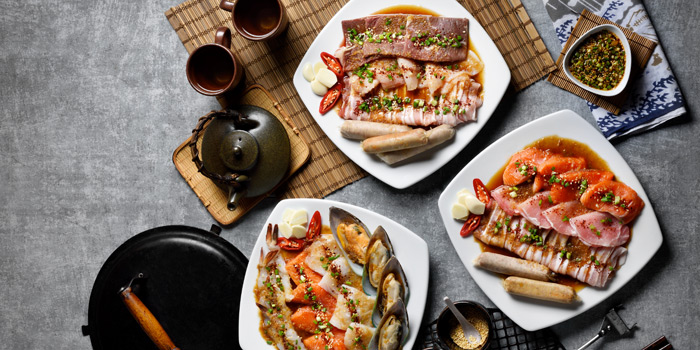 Special Dishes from Kongju Korean Restaurant Pathumwan Princess Hotel 444 MBK Center Phayathai Road Wangmai, Pathumwan Bangkok