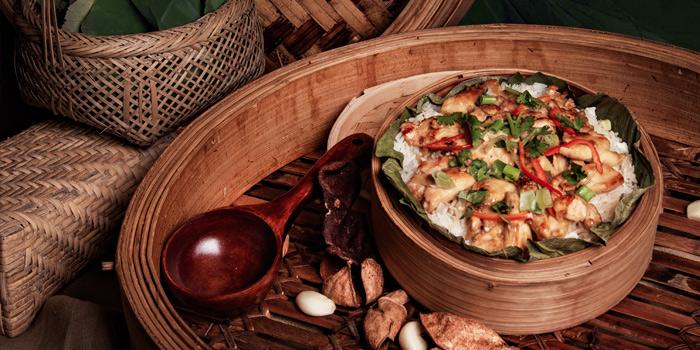 Steamed Rice, Yat Tung Heen, Jordan, Hong Kong