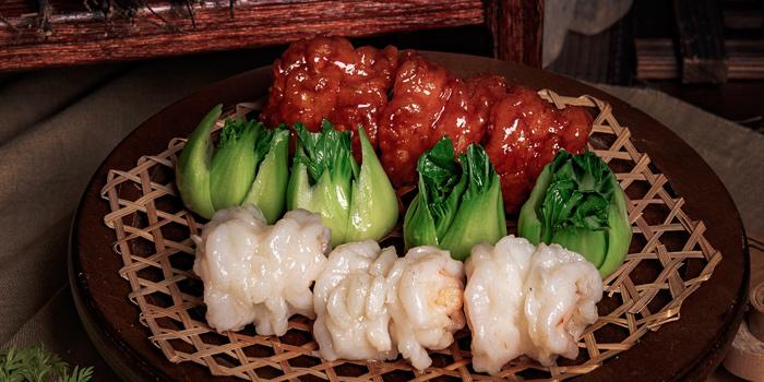 Shrimps, Yat Tung Heen, Jordan, Hong Kong