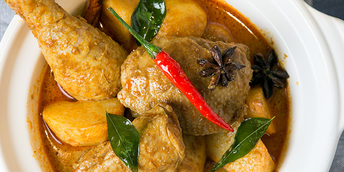 Signature Chicken Curry from Revel Bistro & Bar at Marina Square in City Hall, Singapore