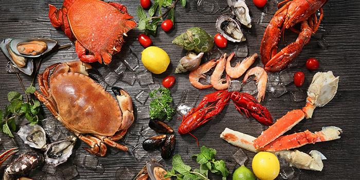 Chilled Seafood, Three on Canton, Tsim Sha Tsui, Hong Kong
