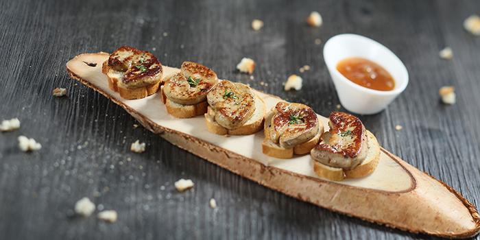Foie Gras with Toast, Three on Canton, Tsim Sha Tsui, Hong Kong