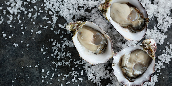 Jet Fresh Oysters, Three on Canton, Tsim Sha Tsui, Hong Kong