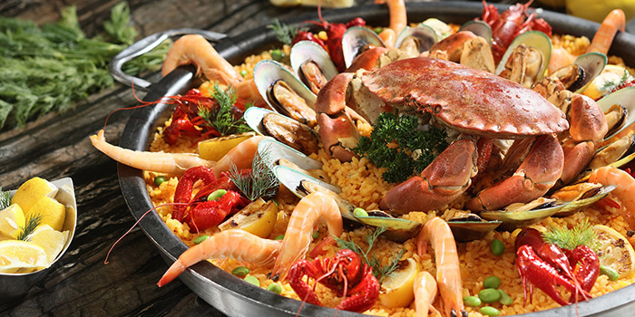 Seafood Paella, Three on Canton, Tsim Sha Tsui, Hong Kong
