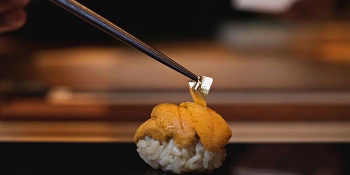 Uni Sushi from Yuzu Omakase at 258/9-10 Siam Square Soi 3, 2F Pathumwan Bangkok