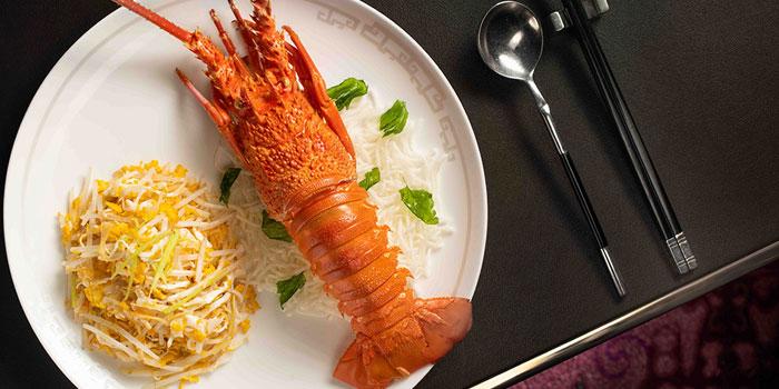 Wok Fried Lobster Scrambled Eggs Osmanthus, Man Wah, Central, Hong Kong