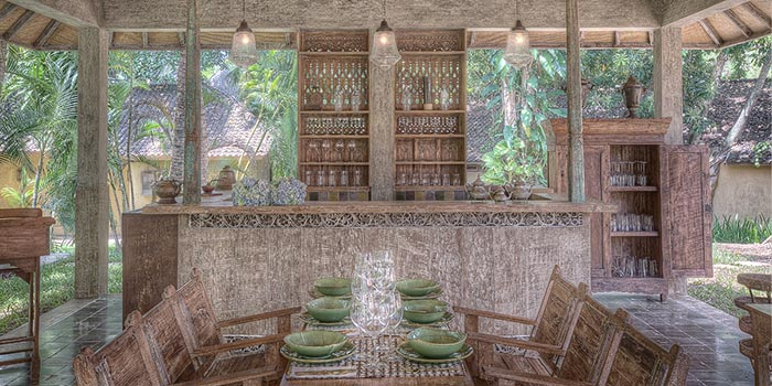 Interior from Asam Garam Restaurant, Jimbaran, Bali