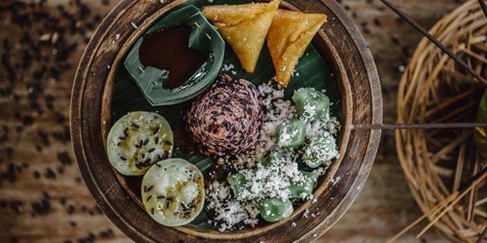 Food from Asam Garam Restaurant, Jimbaran, Bali