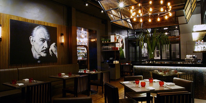 Dining Area of BAM! Restaurant on Tras Street in Tanjong Pagar, Singapore