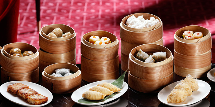 Assorted Dimsum from Madame Fan at JW Marriott Singapore South Beach in Bugis, Singapore
