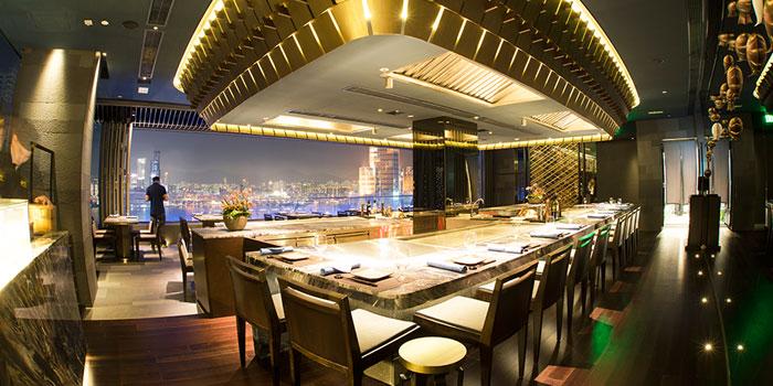 Bar Area, Kamon Teppanyaki, Causeway Bay, Hong Kong