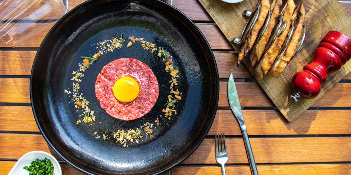 Beef Tartare from JoJo at The St Regis Bangkok 159 Soi Mahardlek Luang 2 Rajadamri Road, Pathumwan Bangkok