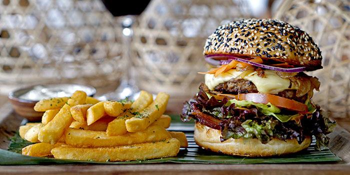 Food from Habitat Cafe, Ubud, Bali