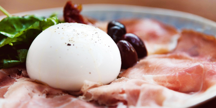 Cullatello & Burrata from Al Dente at The Commons, Village Floor 55 Sukhumvit Rd, Soi Thonglor 17 Bangkok