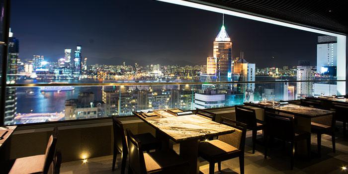 Night View, Kamon Teppanyaki, Causeway Bay, Hong Kong