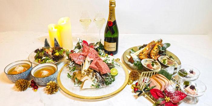 Festive Dinner, Nice Yakiniku & Fine Wine, Causeway Bay, Hong Kong