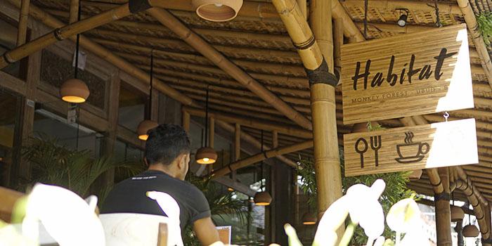 Exterior from Habitat Cafe, Ubud, Bali