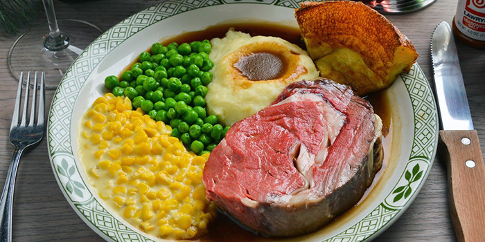 Slow Roasted Prime Beef Rib from Lawry