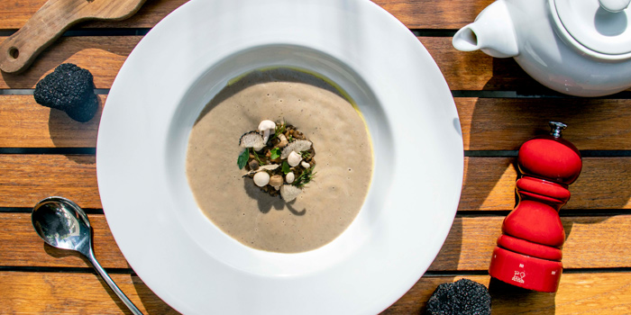 Mushroom & Truffles Soup from JoJo at The St Regis Bangkok 159 Soi Mahardlek Luang 2 Rajadamri Road, Pathumwan Bangkok