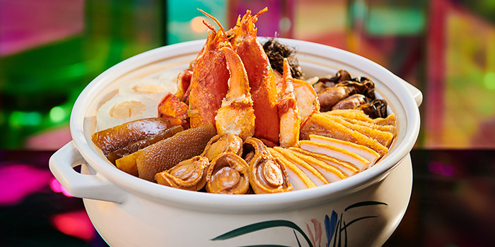 """Lobster """"Peng Cai"""" (15 Jan to 19 Feb) from Mitzo Restaurant & Bar in Grand Park Orchard along Orchard Road, Singapore"""