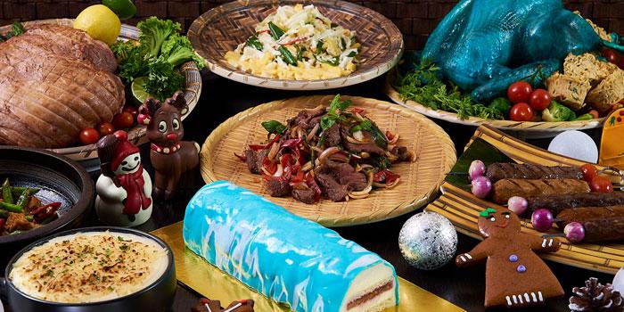 Blue Turkey Feast