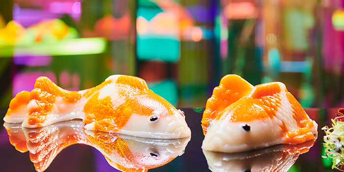 """CNY Koi """"NianGao"""" (15 Jan to 19 Feb) from Mitzo Restaurant & Bar in Grand Park Orchard along Orchard Road, Singapore"""