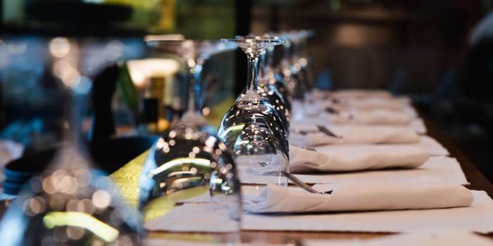 Table Setup from Al Dente at The Commons, Village Floor 55 Sukhumvit Rd, Soi Thonglor 17 Bangkok